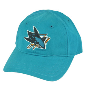 NHL San Jose Sharks Velcro Youth Fan Favorite Robbie Hat Cap Adjustable Hockey