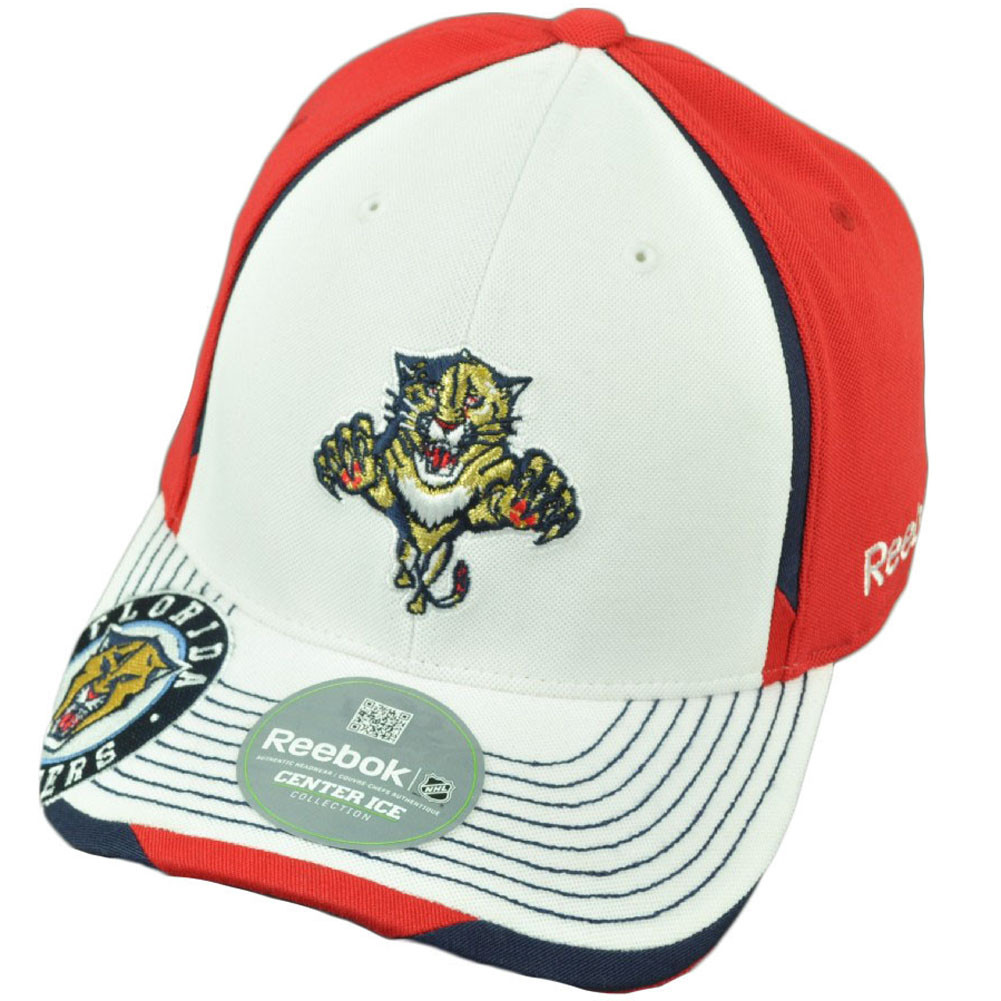 7df0887a28a6a7 NHL Reebok Florida Panthers M075 Flex Fit Large XLarge Center Ice ...