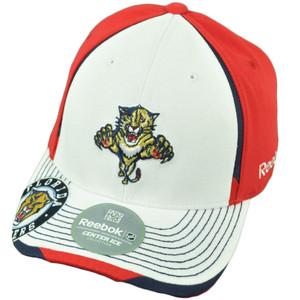 NHL Reebok Florida Panthers M075 Flex Fit Large XLarge Center Ice Stretch Hat Cap