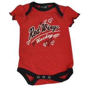 NHL Detroit Red Wings Owl Creek Infant Bodysuit Baby New Born Creeper