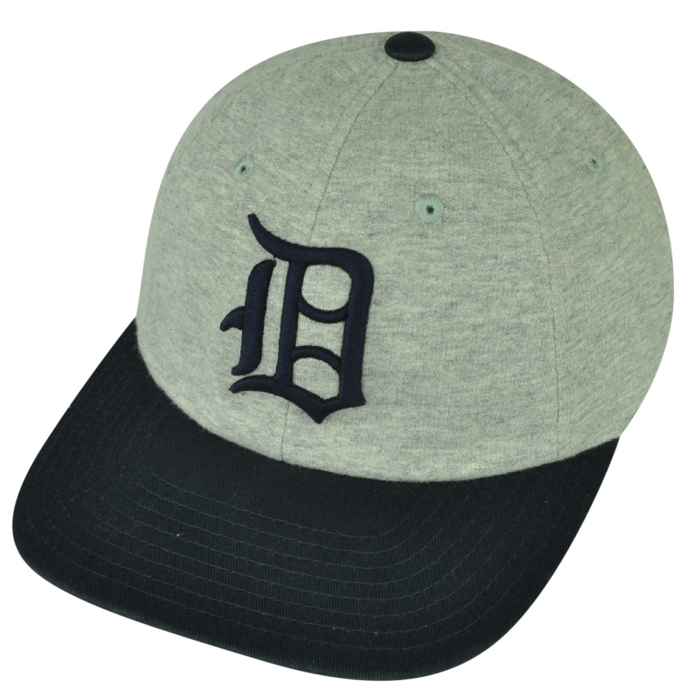 c6786445 MLB American Needle Detroit Tigers Clip Buckle Relaxed Hat Cap Gray ...