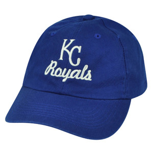 MLB American Needle Kansas KC City Royals Relaxed Blue Sun Buckle Hat Cap Fit