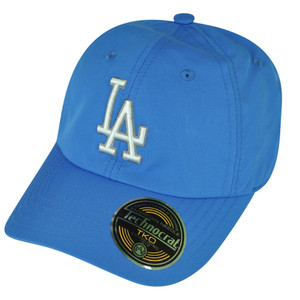 MLB American Needle Los Angeles Dodgers Hat Cap Velcro Technocrat Blue Relaxed