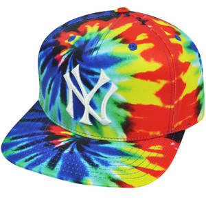 MLB American Needle New York Yankees Coopers town Multicolor Snapback Hat Cap