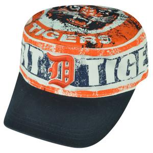 MLB American Needle Detroit Tigers Distressed Cadet Fatigue Hat Cap Snapback
