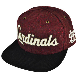MLB American Needle St Saint Louis Cardinals Strap Back Vintage Red Wool Hat Cap