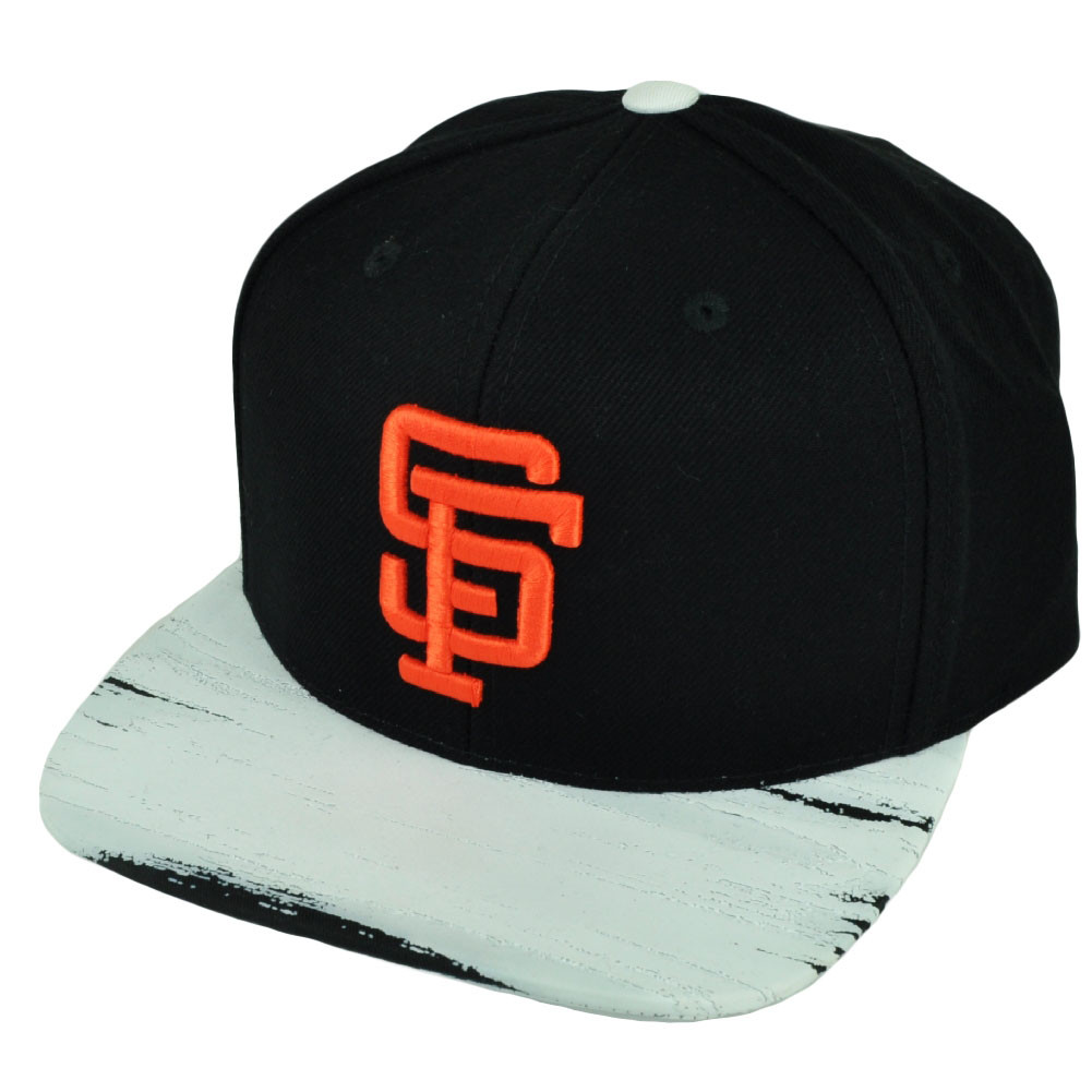 39f7dc02a81 MLB American Needle San Francisco Giants Paint Stroke Snapback Hat Cap Flat  Bill. Image 1