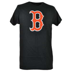 MLB Boston Red Sox Crew Neck Short Sleeve Neon Logo Mens Adult Tshirt Tee Sports