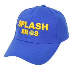 NBA Golden State Warriors Splash Bros Brother Velcro Blue Adjustable Hat Cap
