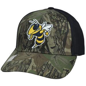 NCAA Georgia Tech Yellow Jackets Freshman Camouflage Adjustable Hat Cap Velcro