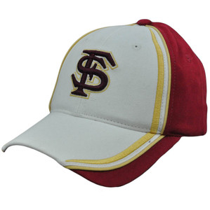 NCAA Florida State Seminoles Fast Freddy Brush Velcro Adjustable Hat Cap Cotton