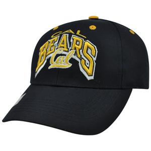NCAA California Berkeley Golden Bears Back to Basic Top of World Velcro Hat Cap