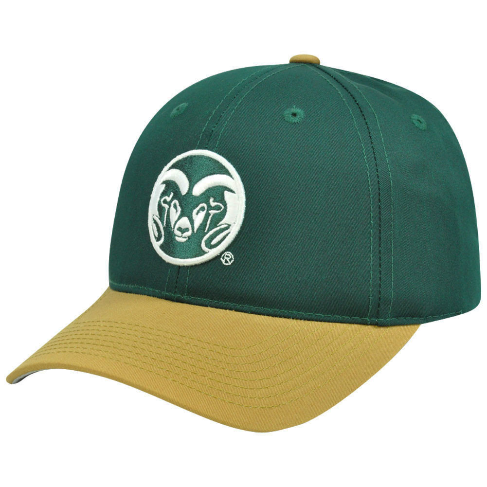 8dfce0bc131 NCAA Colorado State Rams Mascot Logo Adult Small Adjustable Velcro ...