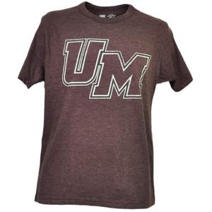 NCAA Massachusetts Minutemen UMass Burgundy Tshirt Tee Mens Adult Short Sleeve