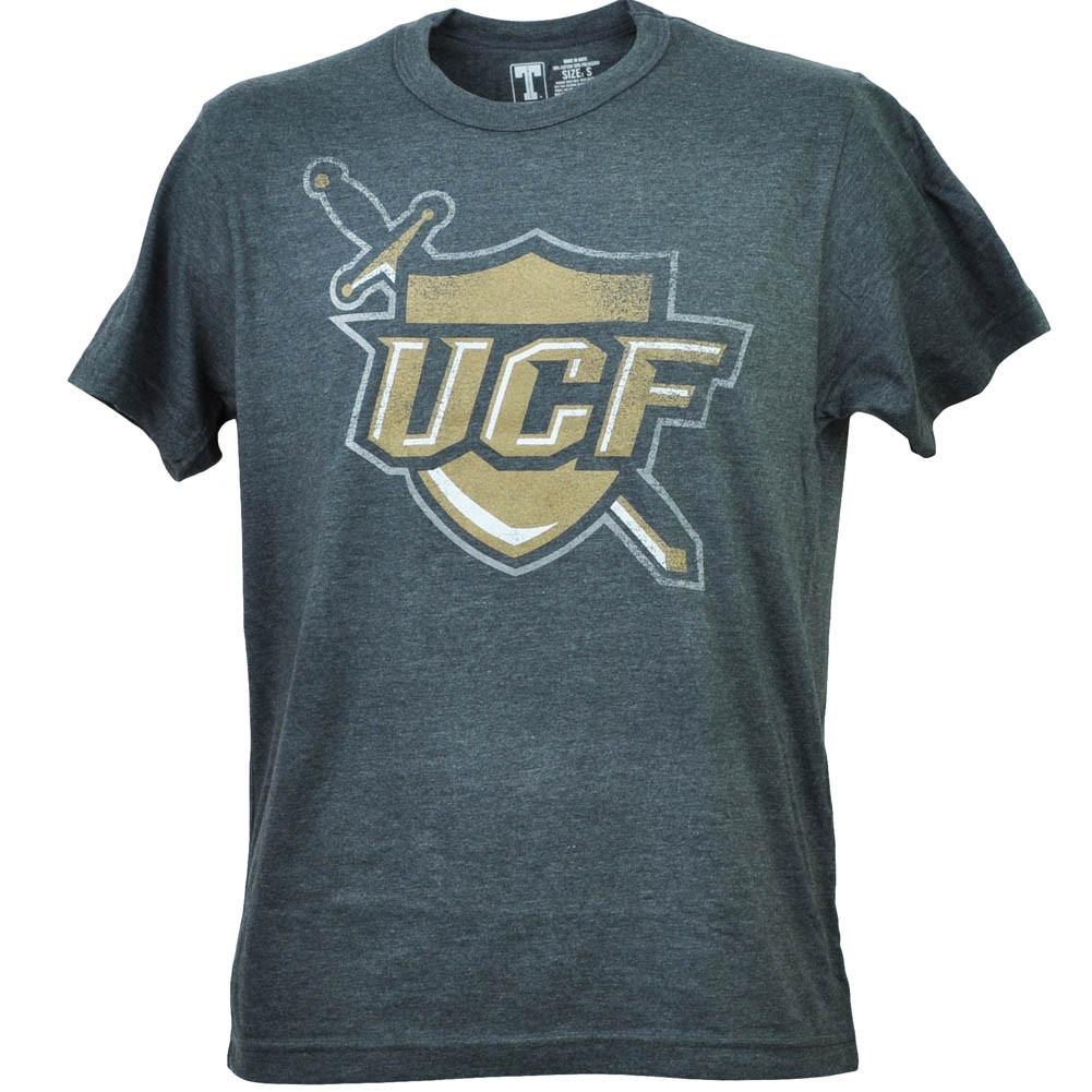 bcfc07cf1 NCAA Central Florida Knights UCF Distressed Mens Short Sleeve Mens Tshirt  Tee. Image 1