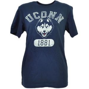 NCAA UConn Huskies Connecticut Distressed Tshirt Tee Mens XLarge XL Navy Blue