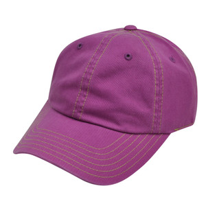 American Needle Purple Ladies Womens Fit Blank Plain Relaxed Sun Buckle Hat Cap