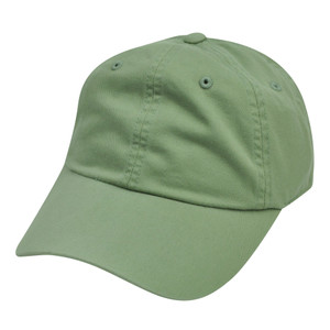 American Needle Green Ladies Fit Blank Plain Relaxed Sun Buckle Hat Cap Womens