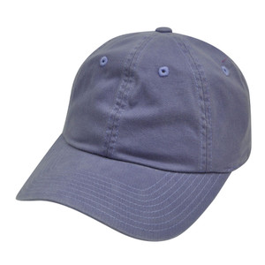 American Needle Purple Ladies Fit Womens Relaxed Blank Plain Solid Hat Cap