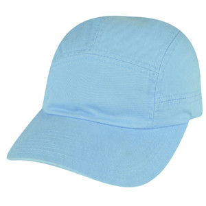 American Needle Light Sky Blue Relaxed Blank Plain  Solid Hat Slouch Cap