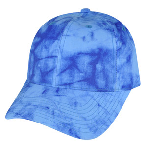 American Needle Bright Blue Watercolor Sun Buckle Solid Plain Relaxed Hat Cap