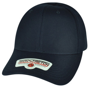 American Needle Midnight Navy Blank FlexFit Tech Stretch Solid Relaxed Hat Cap