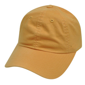 American Needle Light Orange Ladies Fit Womens Relaxed Blank Plain Solid Hat Cap