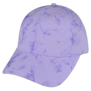 American Needle Bright Fuschia Watercolor Sun Buckle Solid Plain Relaxed Hat Cap