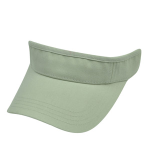 American Needle Khaki Off White Blank Solid Color Sports Sun  Visor Hat