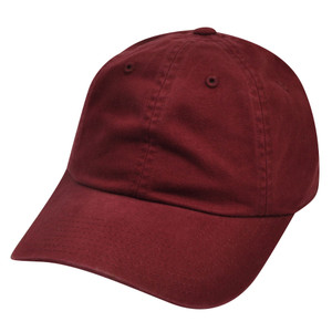 American Needle Burgundy Ladies Fit Womens Relaxed Blank Plain Solid Hat Cap