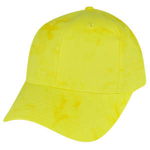 American Needle Bright Yellow Watercolor Sun Buckle Solid Plain Relaxed Hat Cap
