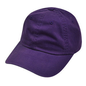 American Needle Purple Ladies Fit Womens Relax Blank Plain Solid Hat Slouch Cap