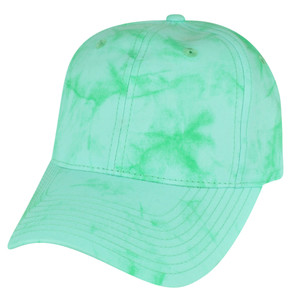 American Needle Pastel Green Watercolor Sun Buckle Solid Plain Relaxed Hat Cap