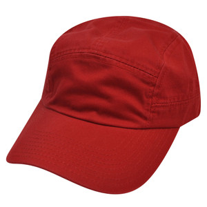American Needle Red Blank Plain Solid  Relaxed Hat Cap Slouch Adjustable