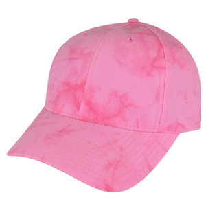 American Needle Bright Pink Watercolor Sun Buckle Solid Plain Relaxed Hat Cap