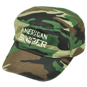 American Sniper Cadet Fatigue Green Camouflage Camo Hat Cap  War Relaxed