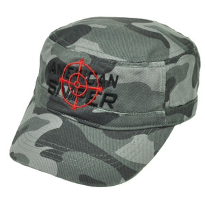 American Sniper Cadet Fatigue Gray Camouflage Camo Hat Cap  War Relaxed