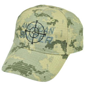 American Sniper Camouflage Camo Hat Cap  Support Kyle Navy Seal Adjustable