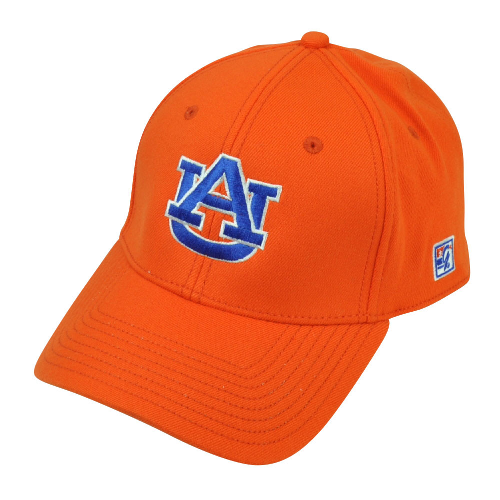 1fe3363b82a NCAA Auburn Tigers The Game Fitted Hat Cap Size Large Orange Stretch ...