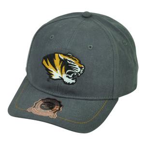NCAA Missouri Tigers OC Sports Sun Buckle Hat Cap Adjustable Grey Ladies Women