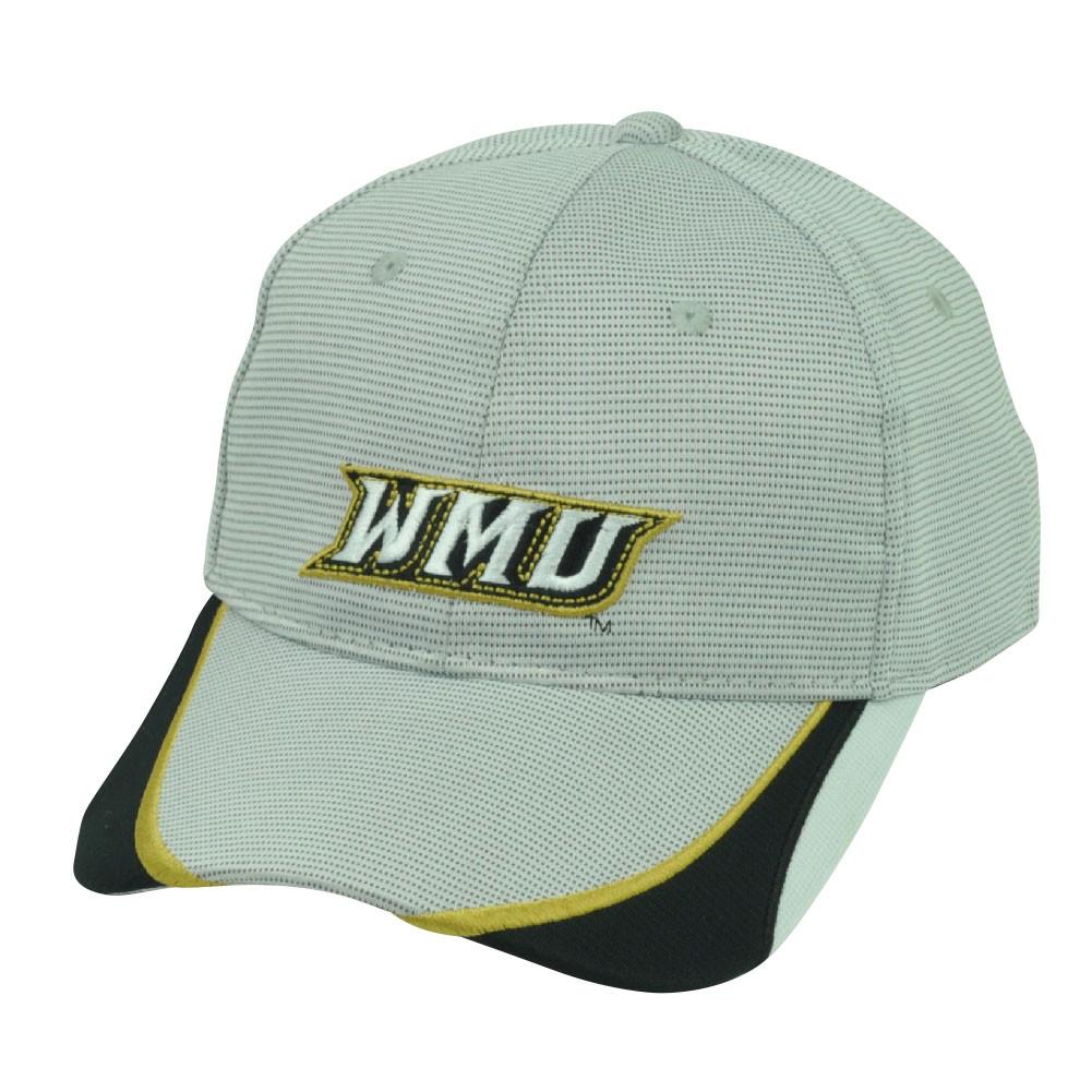 ff60eb61692 NCAA Western Michigan Broncos Sport Adjustable Hat Cap WMU Grey ...