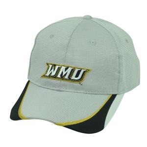 NCAA Western Michigan Broncos  Sport Adjustable Hat Cap WMU Grey Black