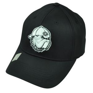 NCAA Georgia Bulldogs Dawgs Top of the World Flex Fit Small Medium Black Hat Cap
