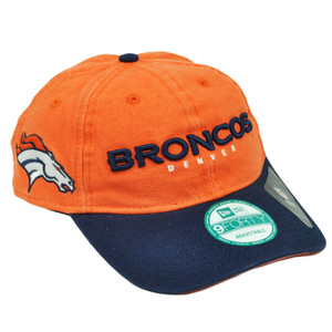 c3727667b ... low price nfl new era 9forty 940 team canvas clip buckle denver broncos  hat cap orange
