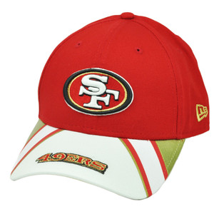 NFL New Era 9Forty 940 Jersey Play San Francisco 49ers  Hat Cap Red White