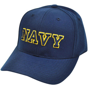 NCAA Navy Midshipmen American Needle Fitted Size 7 1/4 Navy Blue Hat Cap Game
