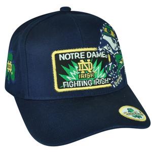 NCAA American Needle Notre Dame Fighting Irish  Navy Blue Hat Cap Sport