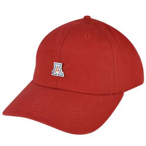 NCAA American Needle Arizona Wildcats Relaxed Red Sun Buckle Hat Cap Adjustable