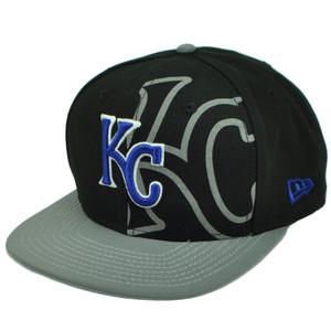 MLB New Era 9Fifty 950 2T Treasure Kansas City Royals Snapback Flat Bill Hat Cap