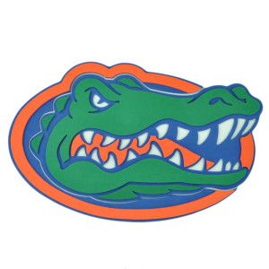 NCAA Florida Gators 3D Hand Foam Fan Sport Game Day Logo Wall Sign Decoration